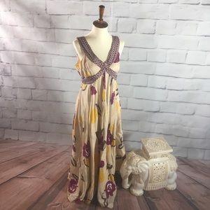 Anthropologie Moulinette Soeurs Maxi Dress Cute!